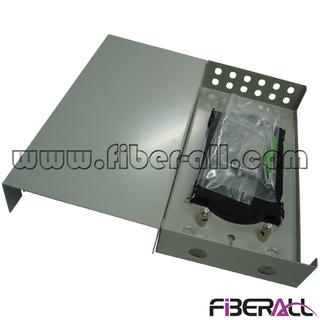 FA-FDTWFM12G-STN Small Type Wall Mounted Fiber Optic Terminal Box with 12 ST Ports