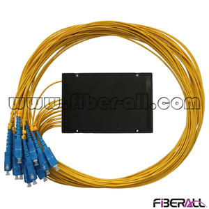 FA-PLCA1×16SP, ABS Module Type PLC Fiber Optic Splitter, 1×16, With SC Connector