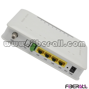FA-EONU8004ZWF Optical Network Unit EPON ONU 1xPON port 4x10/100/1000M Ports 1xWLAN Port (WiFi) 1xCATV Port