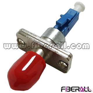FA-OA-TPFLPM, Hybrid Type Optical Fiber Attenuator ST/PC Female To LC/PC Male 1~25dB