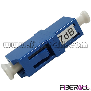 FA-OA-LPFLPF,LC/PC Female To LC/PC Female Fixed Type Fiber Optical Attenuator 1~20dB