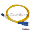 FAPC-SPLPS2R SC-LC Duplex SM Fiber Optic Patch Cord with Number Mark Ring