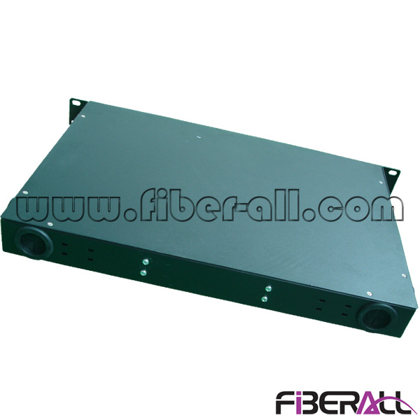 FA-FDR1MD48B-SCA SC/APC Duplex Type Rack Mounted Fiber Patch Panel With 24 Pieces Optical Adapter