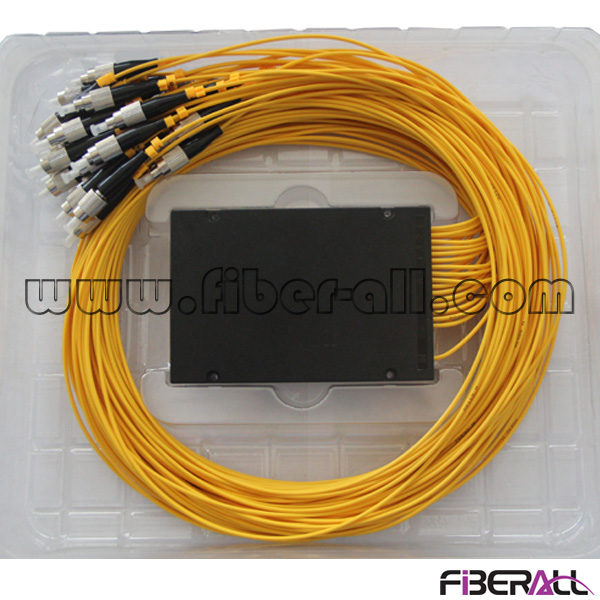 FA-PLCA1×16FP, Fiber Optical PLC Splitter, with ABS box, 1×16, With FC Connector