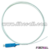 FAPG-SPS01, Single mode Indoor Optical Fiber Pigtail, SC/PC, Simplex, 0.9mm,White