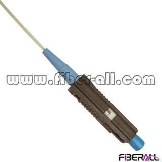 FAPG-MPS01 Single Mode Fiber Optic Pigtail with MU Connector Simplex 0.9mm White Cable