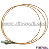FAPG-FPM01, Optical Fiber Pigtail, FC/PC, Multimode, Simplex, 0.9mm, Orange