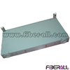 FA-FDF1DM24G-SC,Rack Mounted Fiber Optic Patch Panel Fixed Type 1U 19 Inch 24 Fibers Grey for SC Adapter