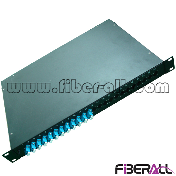 FA-FDR1MR48B-LCP 48 Cores Swing Out Rack Mounted Fiber Optic Patch Panel with LC Duplex Adapter
