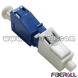 FA-AD-LPMLPF,Optical Fiber Conversion Adapter LC/PC Male to LC/PC Female Blue