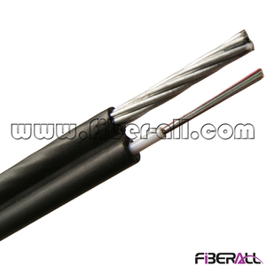 FA-OC-GYXTC8Y10 10 Fibers GYXTC8Y Figure 8 Overhead Self-supporting Fiber Optic Cable with Stranded Messenger Wires