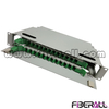 FA-FDR2UM24G-N Fiberall Optical Distribution Frame Unit 2U ODF Unit 24 Fibers Grey