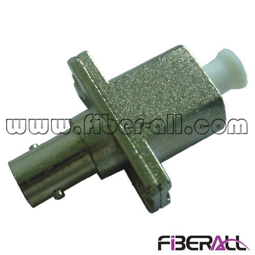 FA-AD-TP1LP-M Metal Hybrid ST-LC Fiber Optic Adapter Simplex with Flange