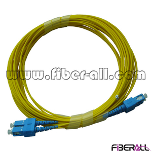 FAPC-SPSPS2 Single Mode Duplex SC/PC-SC/PC Optical Fiber Patch Cord