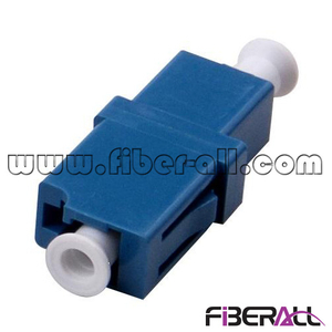 FA-AD-LP1SP Single Mode Simplex LC/PC Fiber Optic Adapter Plastic Blue