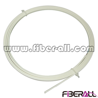 FA-FXDP0102F Indoor FTTH Drop Fiber Optic Cable with FRP KFRP Strengthen Member 1 or 2 Fibers