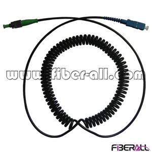 FA-SPC-SPFA1 SC/UPC-FC/APC Spring Fiber Optic Patch Cord Simplex Single Mode