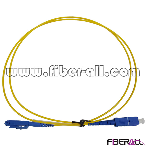 FAPC-XPSPS1 Mini Type LX.5 - SC Fiber Optic Jumper for Cable Television with Push-Pull Connector