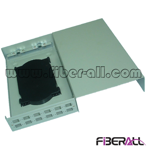 FA-FDTWFM12G 12 Fibers Small Wall Mounted Fiber Optic Terminal Box for SC Simplex or LC Duplex Adapter