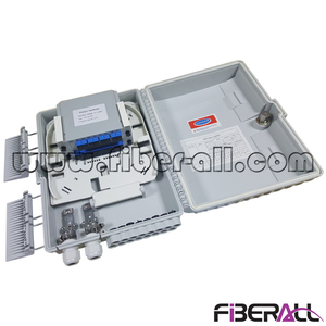 FA-PLCD1×16SU,Plastic Wall or Pole Mounted Fiber Distribution Box FDB for 1x16 PLC Splitter SC/UPC