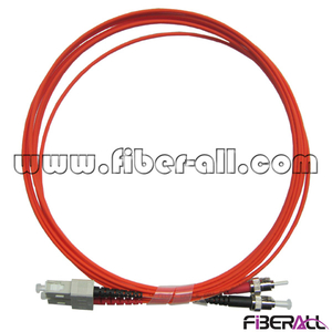 FAPC-SPTPM2 Duplex SC to ST Multimode Fiber Optical Jumper from Shenzhen Supplier