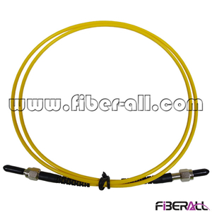 FAPC-APAPS1 Single Mode Simplex SMA to SMA Fiber Optic Patch Cord with Stainless Steel Ferrule