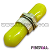 FA-AD-TP1MM-Y Metal Simplex ST Fiber Optic Adapter with Yellow Cap